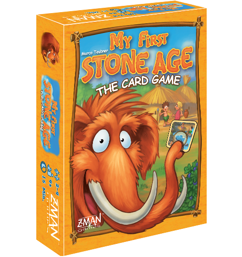 My First Stone Age The Card Game -  Z Man Games