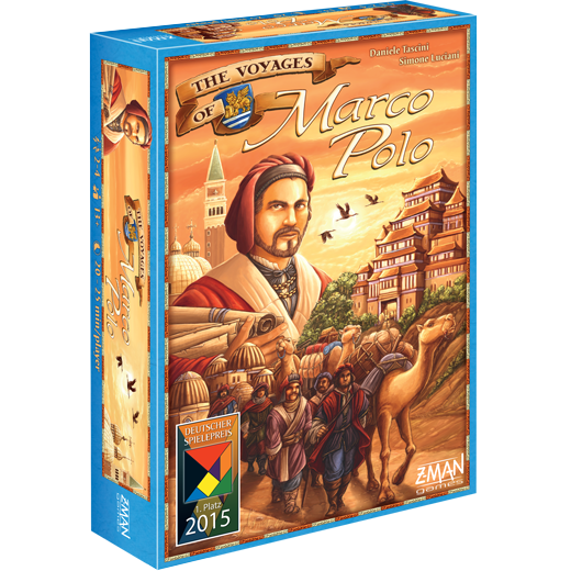 The Voyages of Marco Polo -  Z Man Games