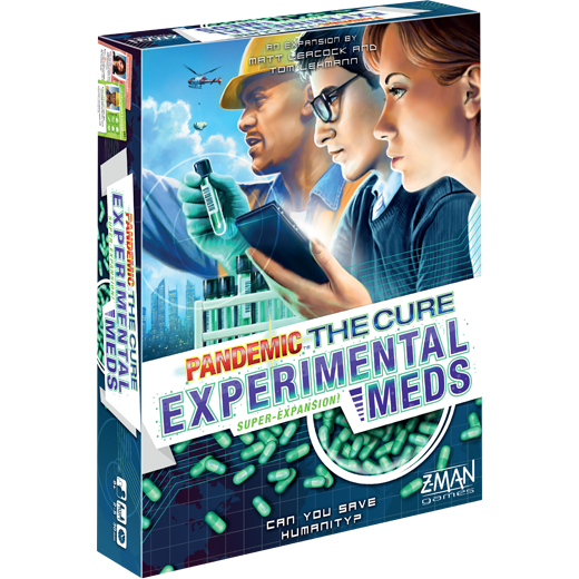 Experimental Meds: Pandemic: The Cure  -  Z Man Games