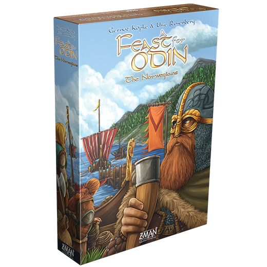The Norwegians: A Feast for Odin  (T.O.S.) -  Z Man Games