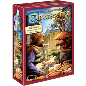 Traders and Builders: Carcassonne Expansion 2 (T.O.S.) -  Z Man Games