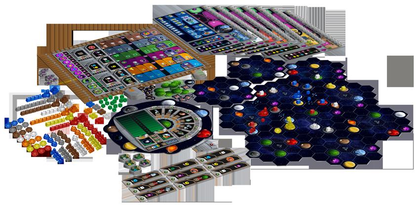 Afbeeldingsresultaat voor gaia project boardgame