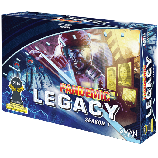 Pandemic Legacy: Season 1 Blue -  Z Man Games
