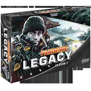 Black: Pandemic Legacy Season 2 -  Z Man Games