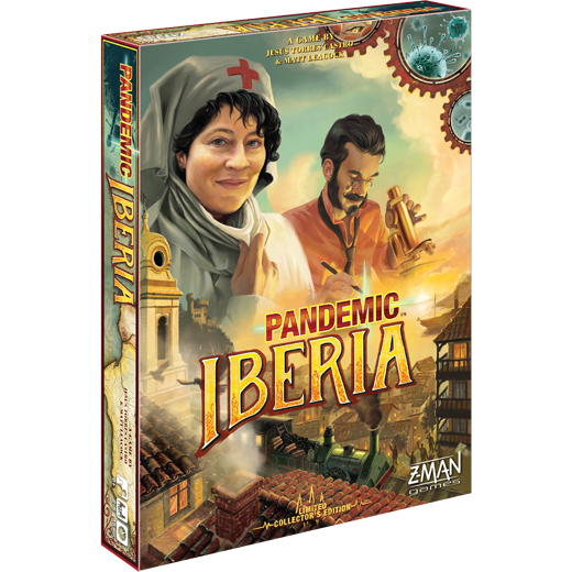 Pandemic: Iberia (T.O.S.) -  Z Man Games