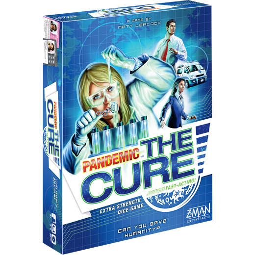 Pandemic: The Cure -  Z Man Games