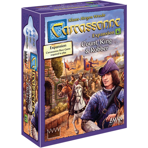 Count, King and Robber: Carcassonne -  Z Man Games