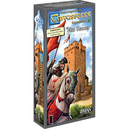 The Tower: Carcassonne (T.O.S.) -  Z Man Games