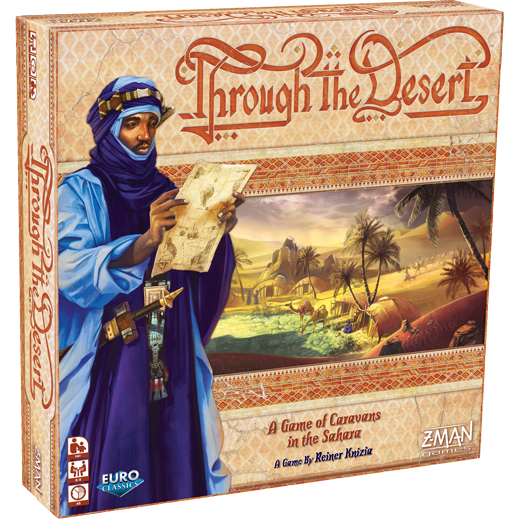 Through the Desert -  Z Man Games