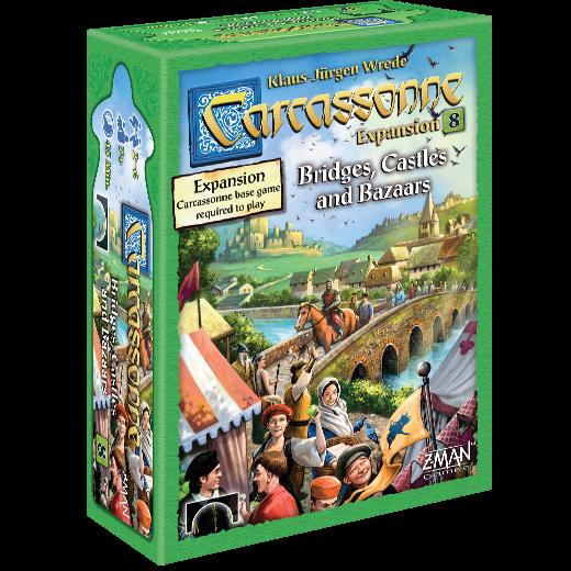 Bridges, Castles and Bazaars: Carcassonne -  Z Man Games