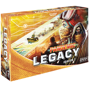 Yellow: Pandemic Legacy Season 2 -  Z Man Games