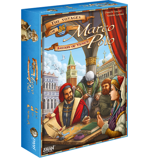 Venice Agents: The Voyages of Marco Polo -  Z Man Games