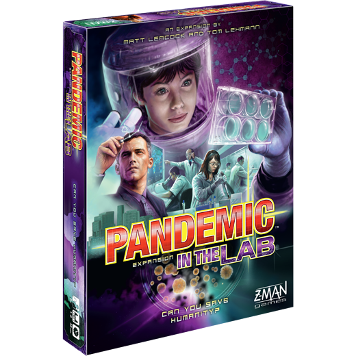 Pandemic: In the Lab -  Z Man Games