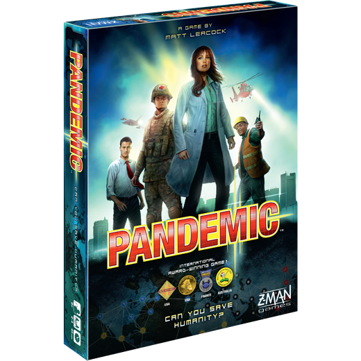 Game box for Pandemic