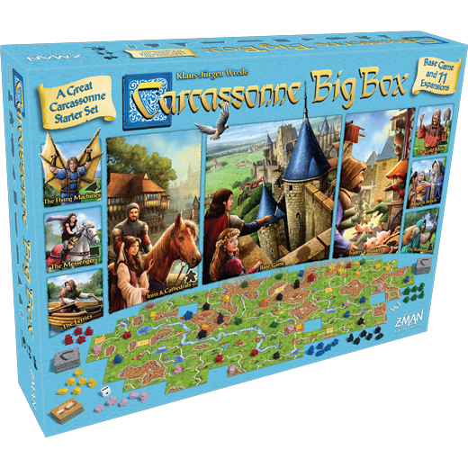 Carcassonne Big Box: 2017 (T.O.S.) -  Z Man Games